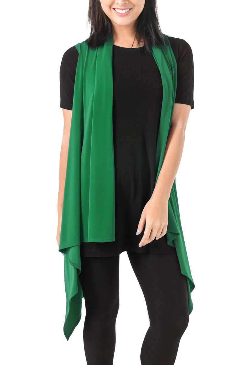 Two Way Layering Vest Jade