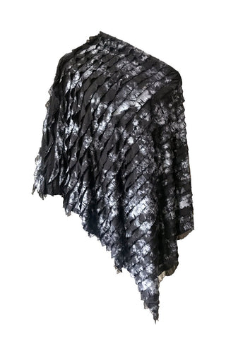 Ice Velvet Poncho - Double Sided