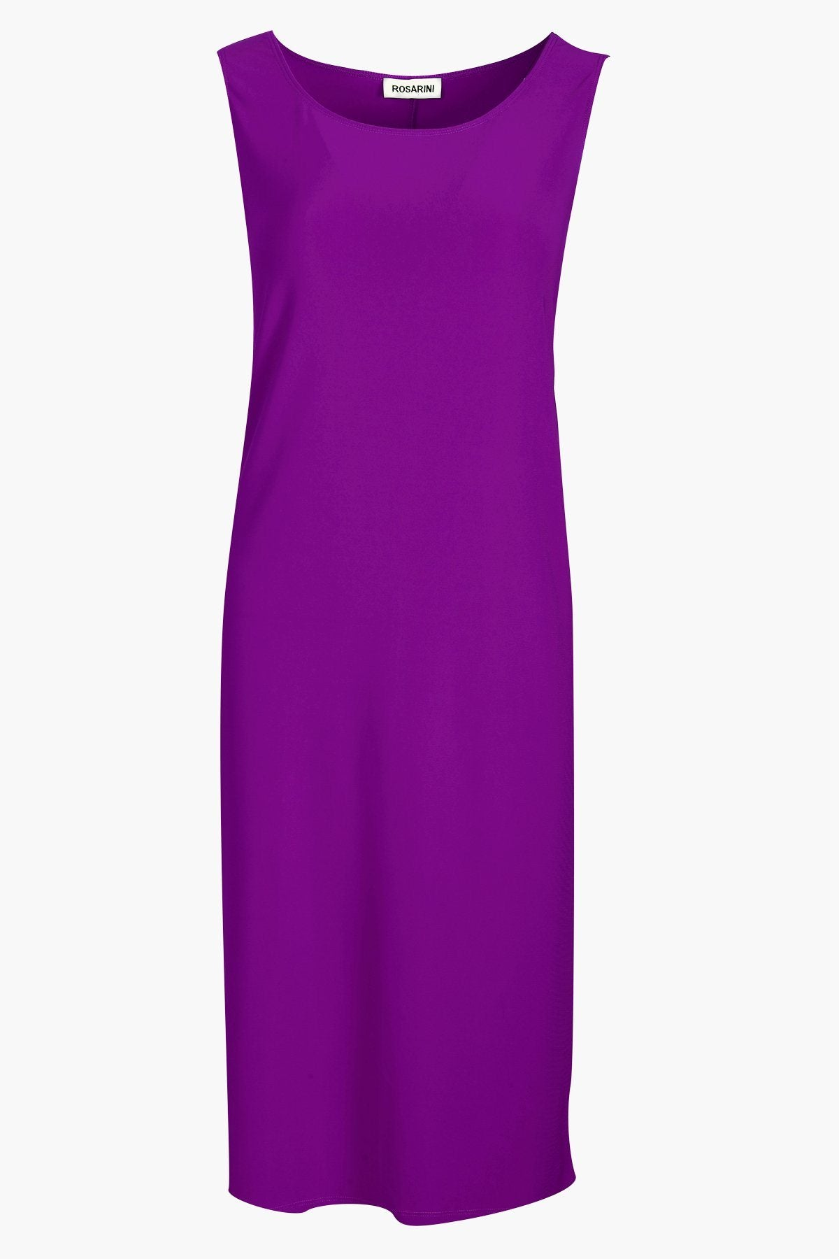 Sleeveless Shift Dress bright purple