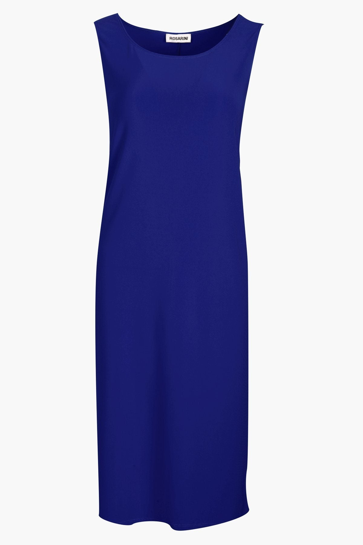 Sleeveless Shift Dress royal blue