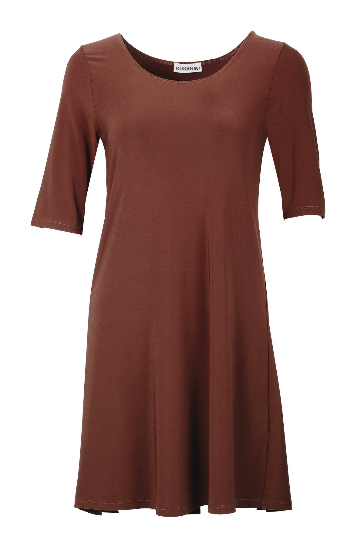 A-Line Top Brown