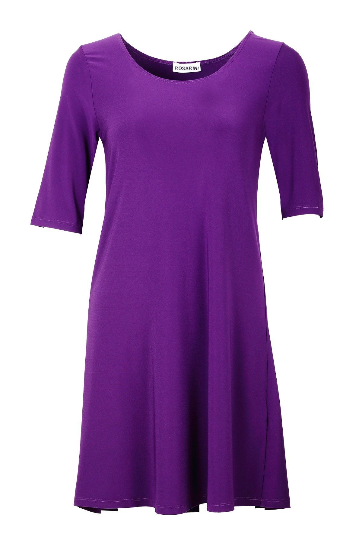 Women's Purple A Line Dress Top Rosarini