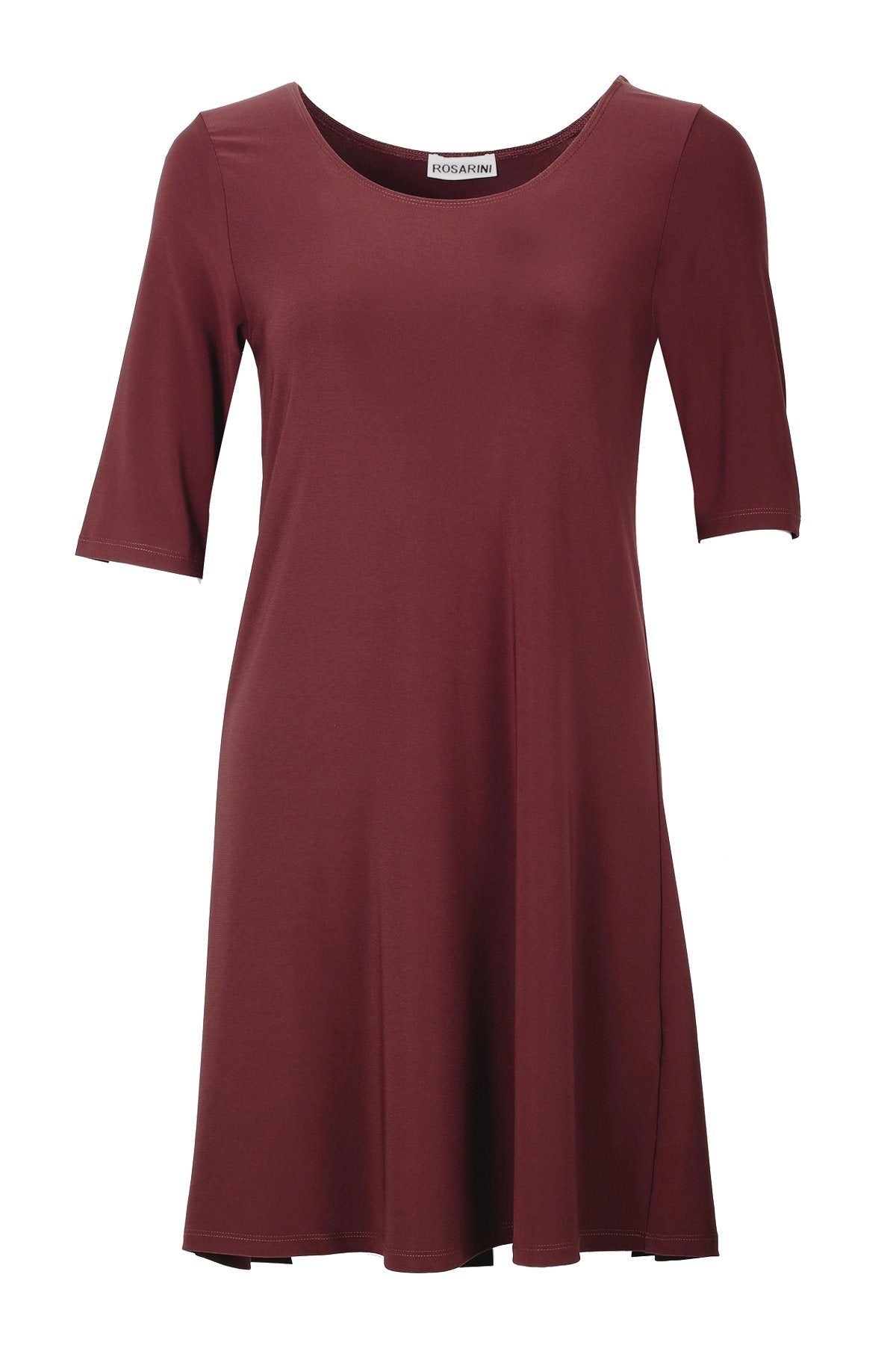 Women's Chestnut A Line Dress Top Rosarini