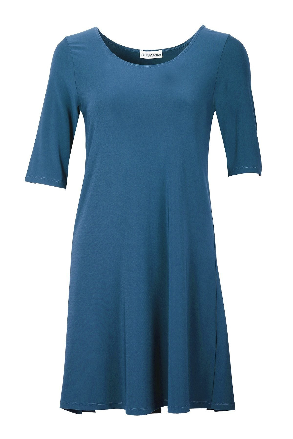 Women's Teal A Line Dress Top Rosarini