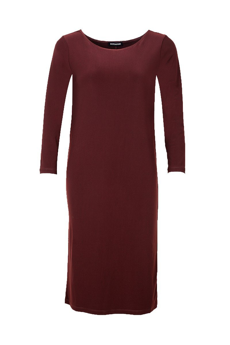 Ms Parker Dress Chestnut