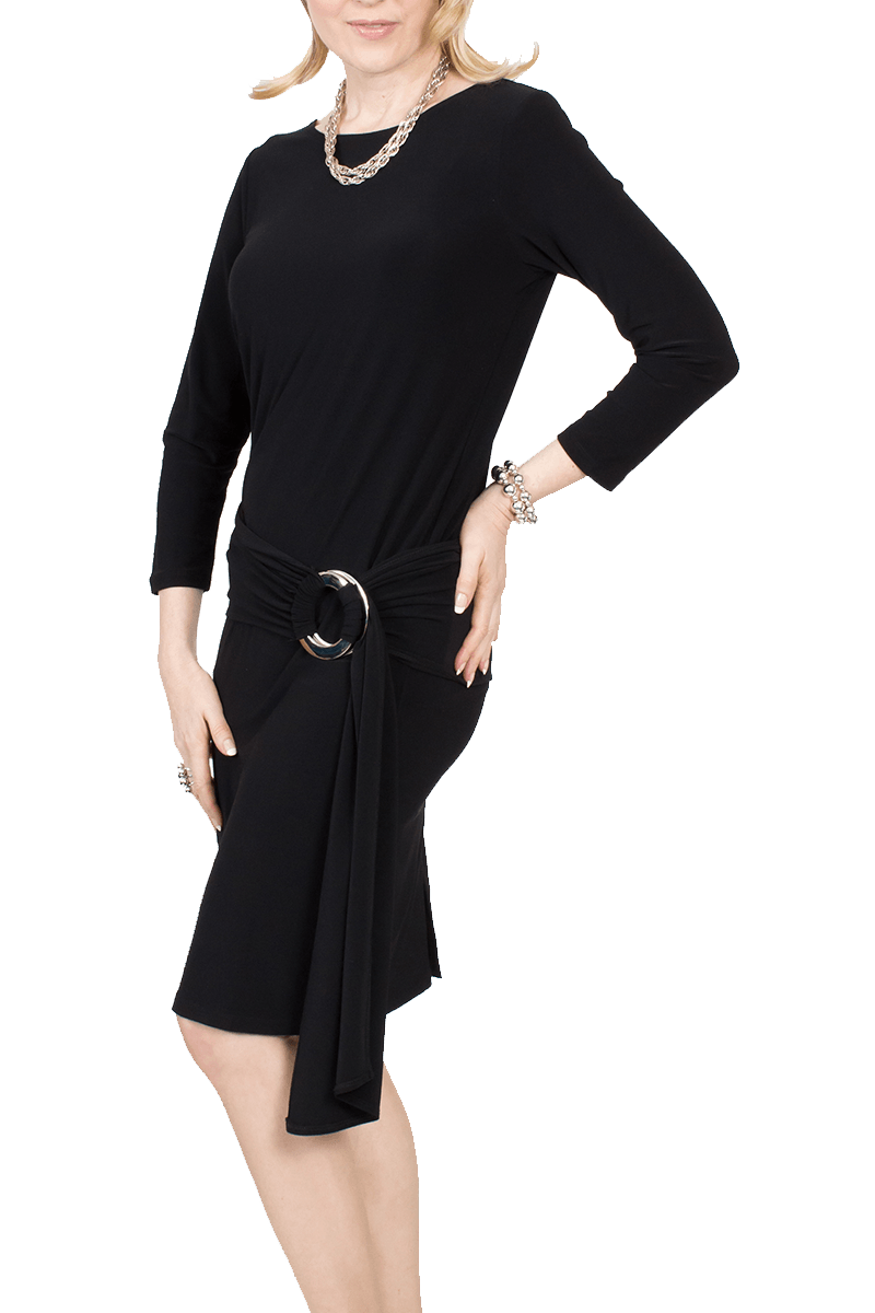 Ms Parker Dress Black