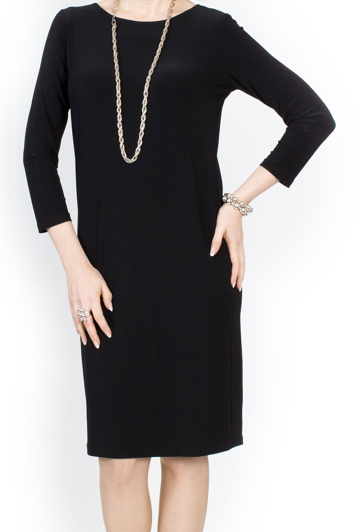 MRS PARK DRESS Black