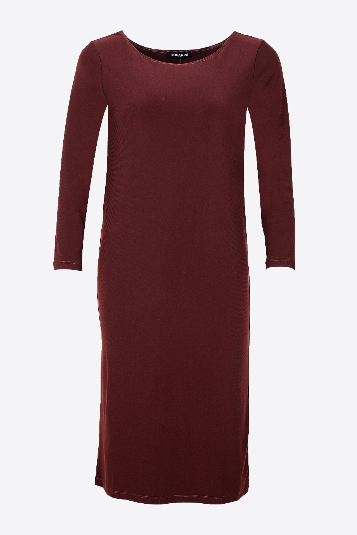 PLUS SIZE MRS PARK DRESS CHESTNUT