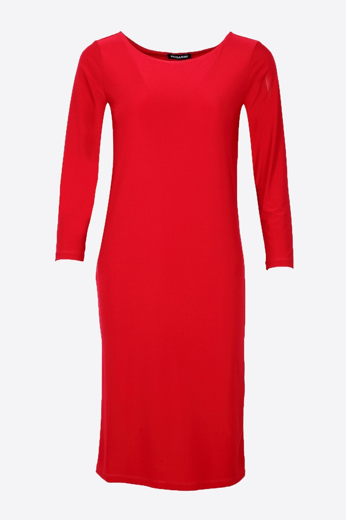 PLUS SIZE MRS PARK DRESS RED