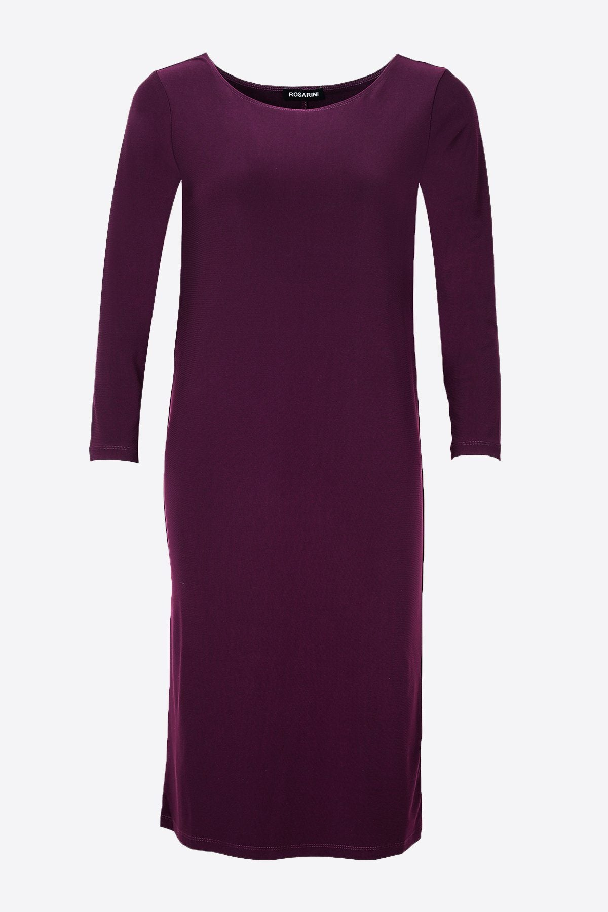 PLUS SIZE MRS PARK DRESS WINE
