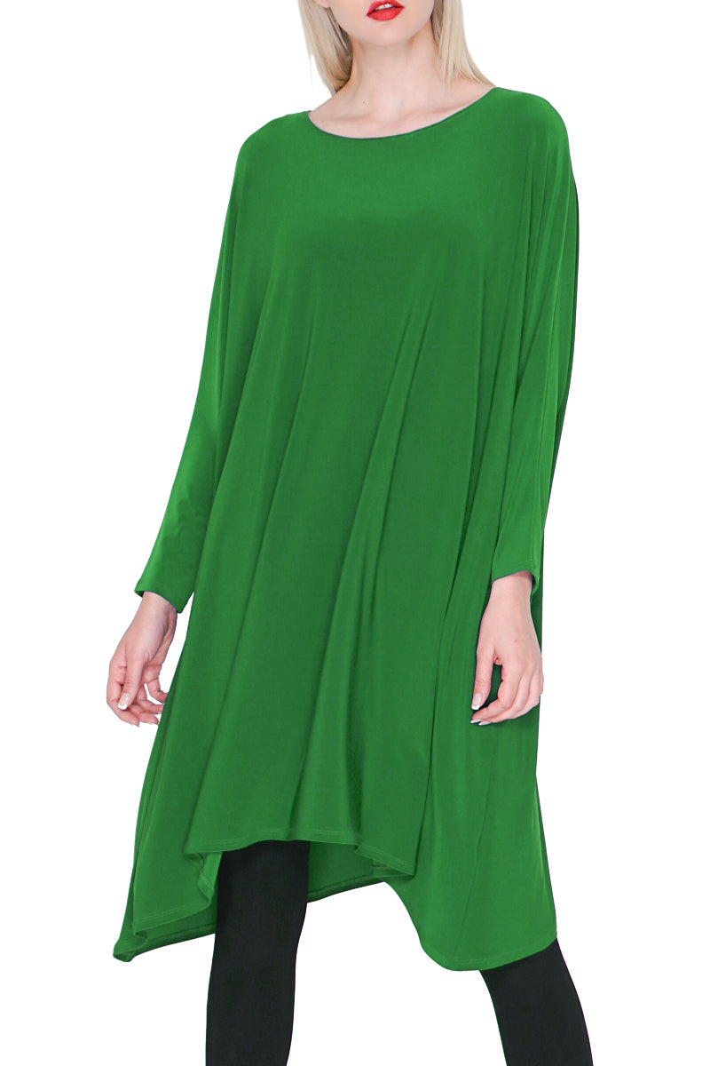 3/4 Sleeve Dress Jade