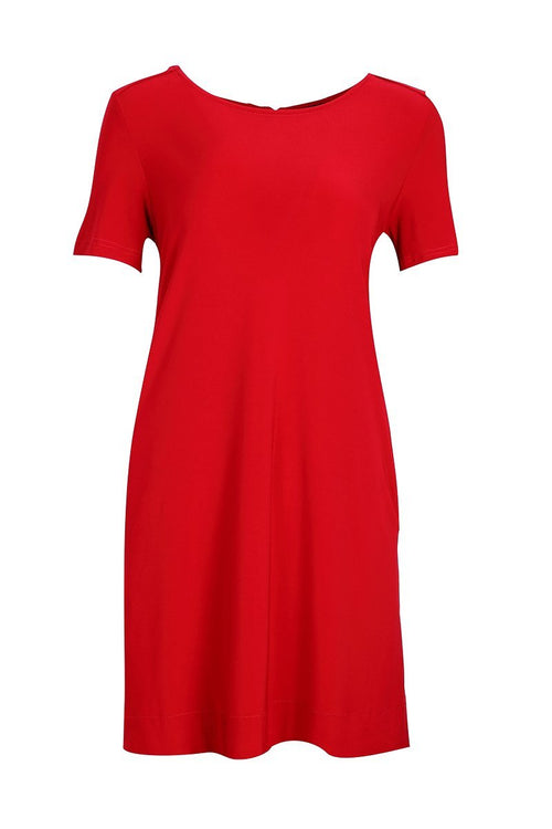 Short Sleeve A Line Dress - Siena Dress