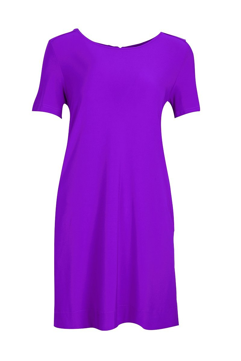 Women's Bright Purple Siena Dress Rosarini