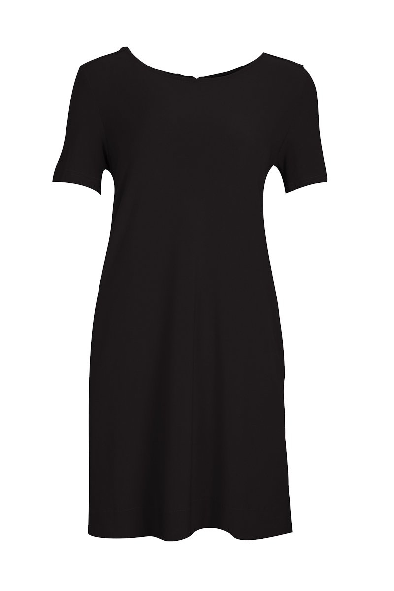 Women's Black Siena Dress Rosarini