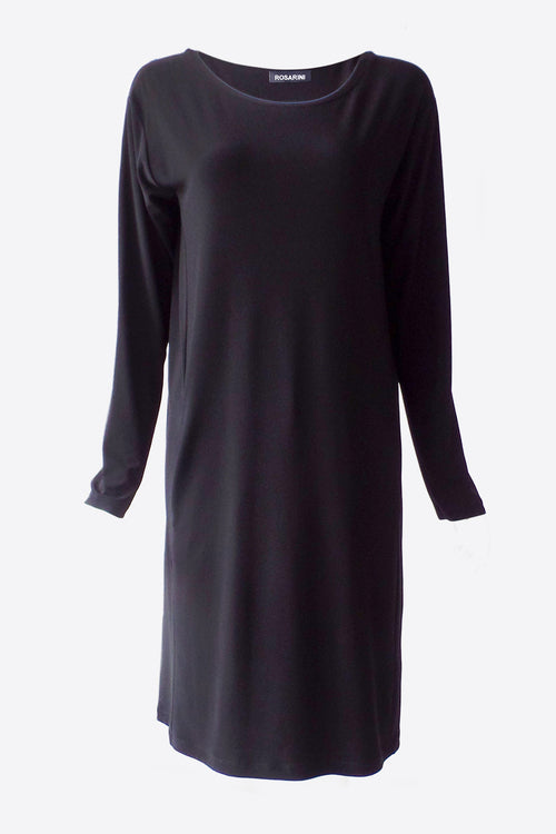 Mod Dress Black Plus Size