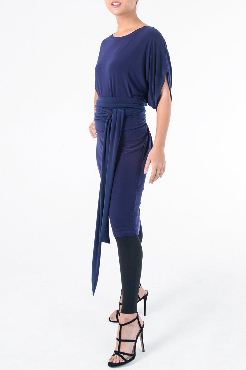 Batwing Dress Top