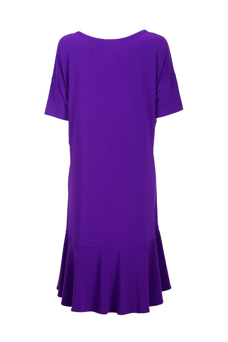 Ruffle Dress - Women's Clothing -ROSARINI