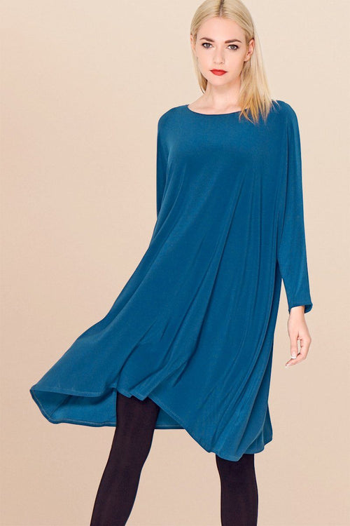 Women Long Sleeve Tunic - Ivan Dress
