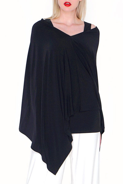Poncho - Women's Clothing -ROSARINI