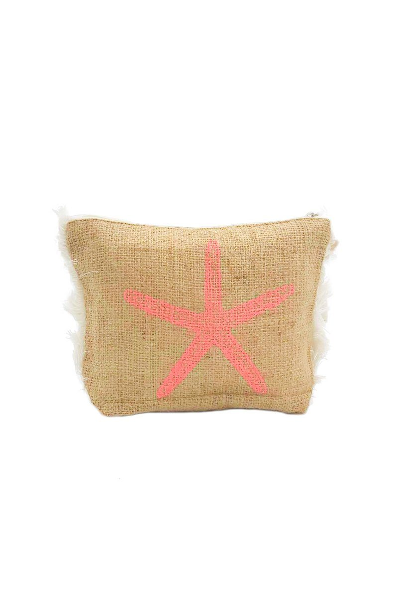 Coral Pouch - Women's Clothing -ROSARINI