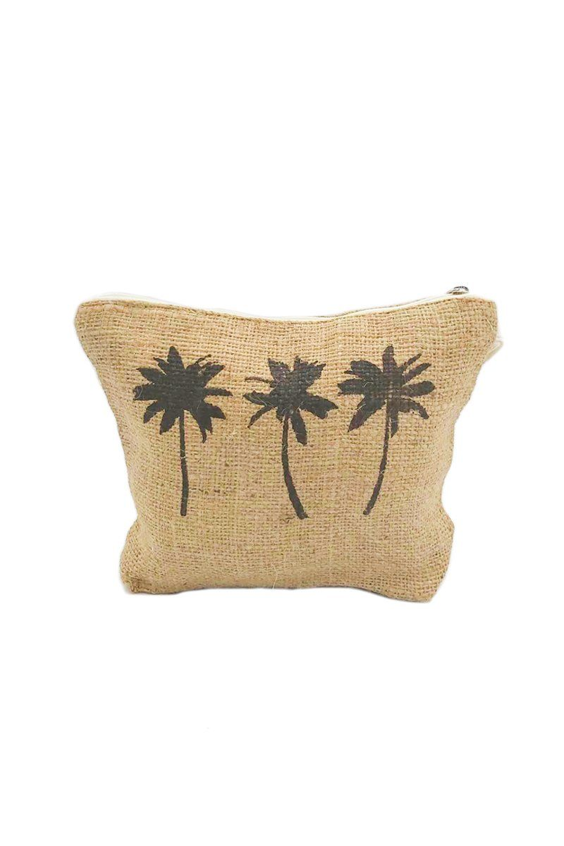 Palm Tree Pouch - Women's Clothing -ROSARINI