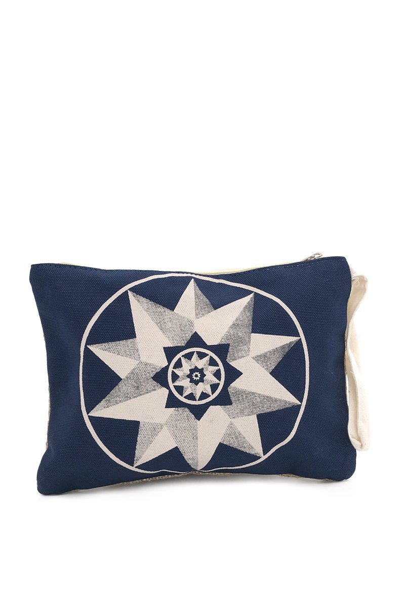 Star Canvas Pouch - Women's Clothing -ROSARINI