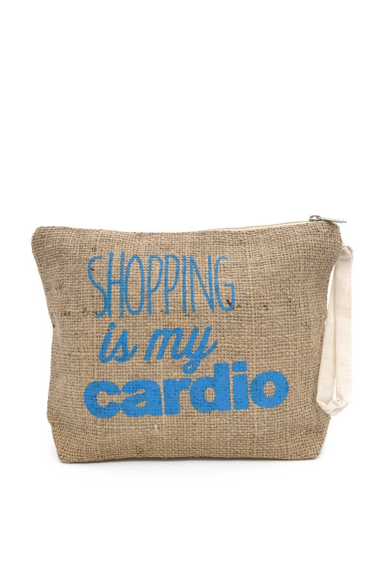 Shopping Is My Cardio Pouch