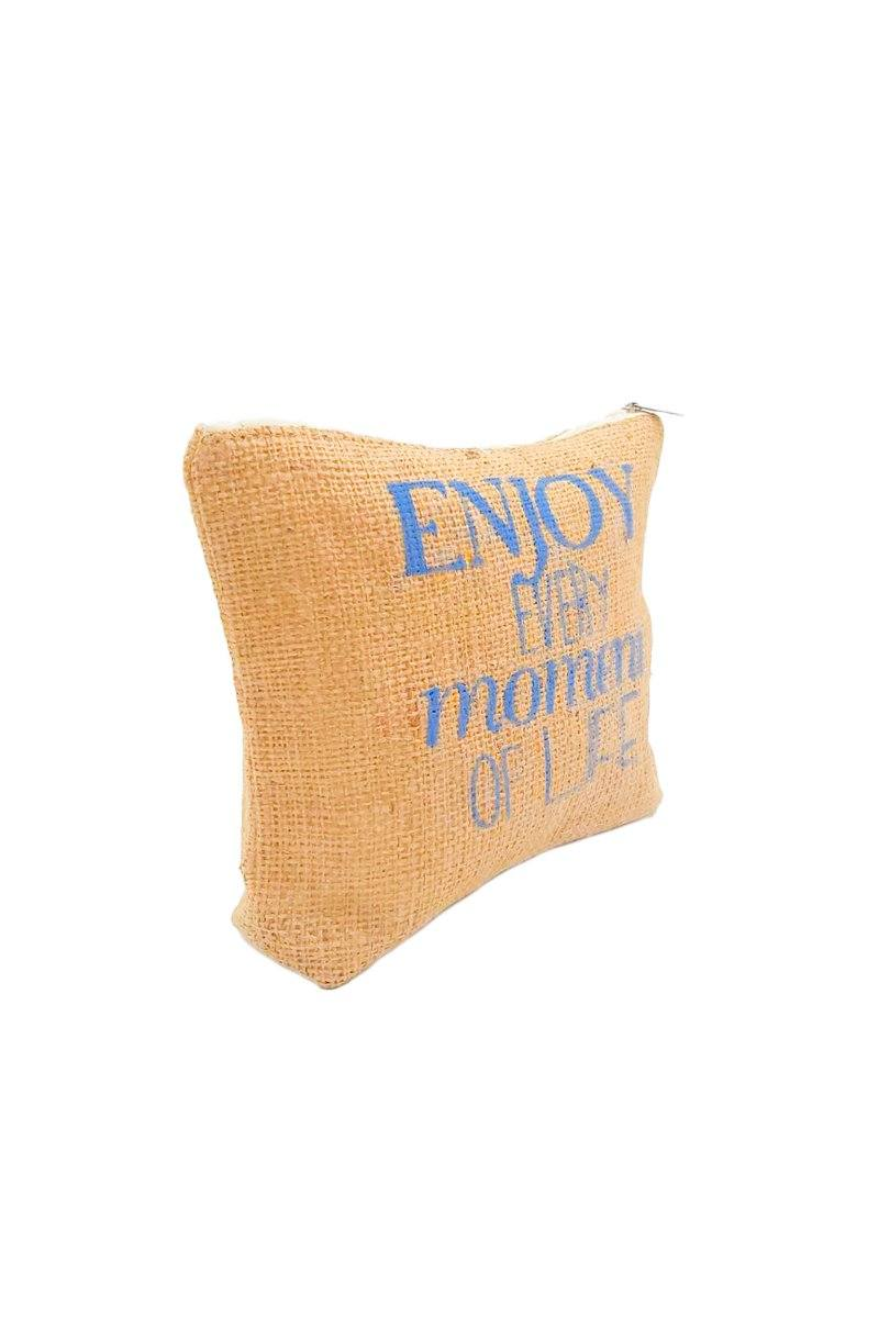 Enjoy Every Moment Of Life Pouch - Women's Clothing -ROSARINI