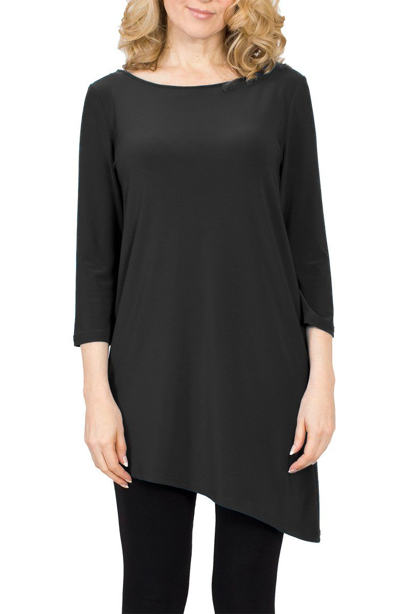Diagonal Top - Women's Clothing -ROSARINI