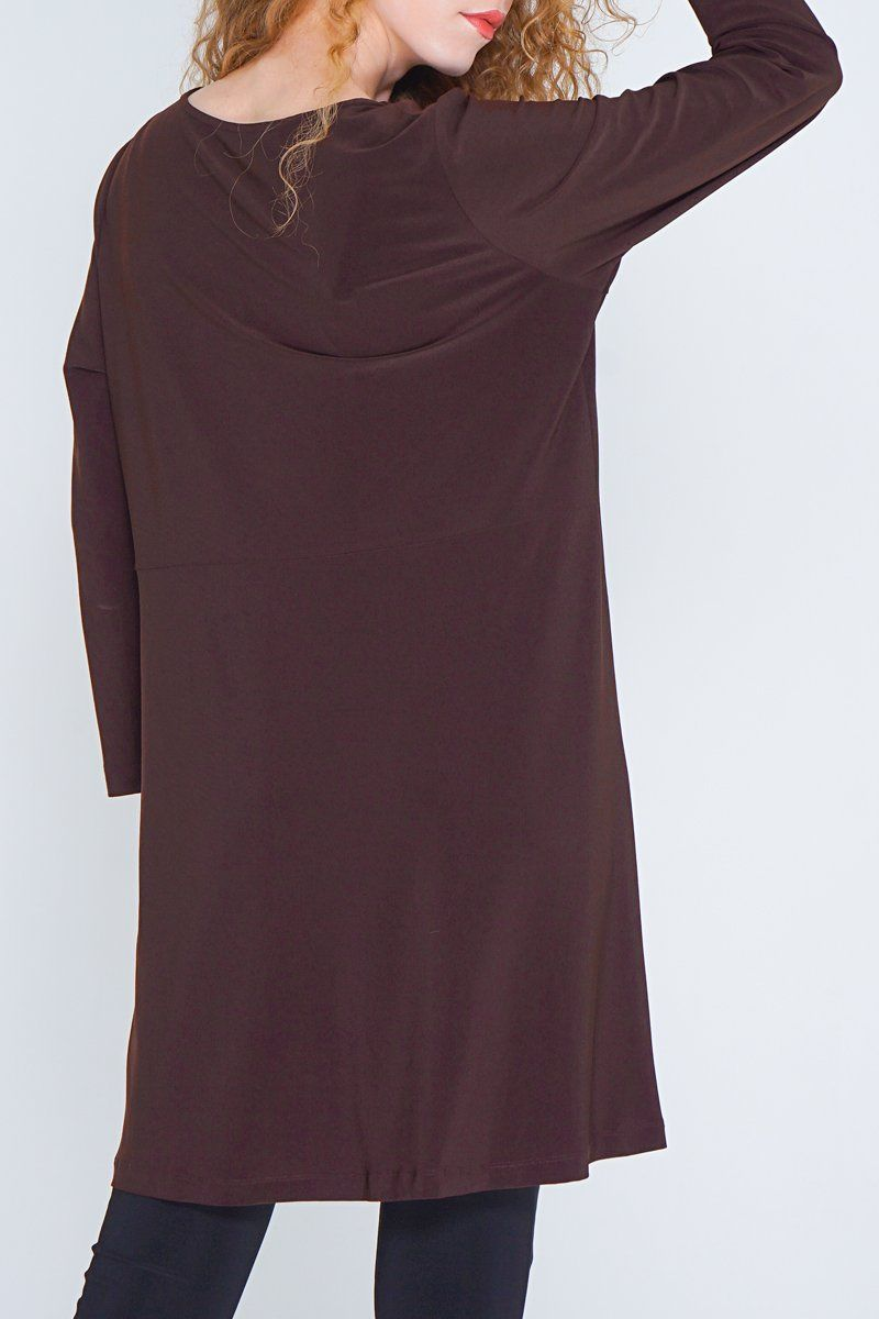 Long Sleeve Tunic with Side Split