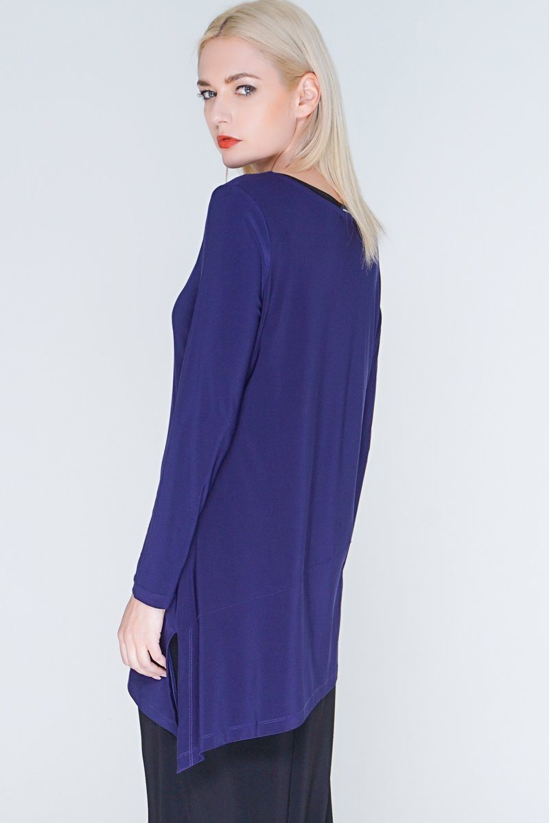 Long Asymmetric Tunic Top
