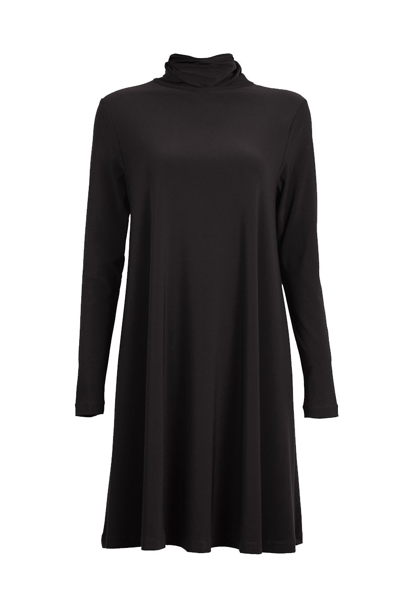 long sleeve high neck tunic top