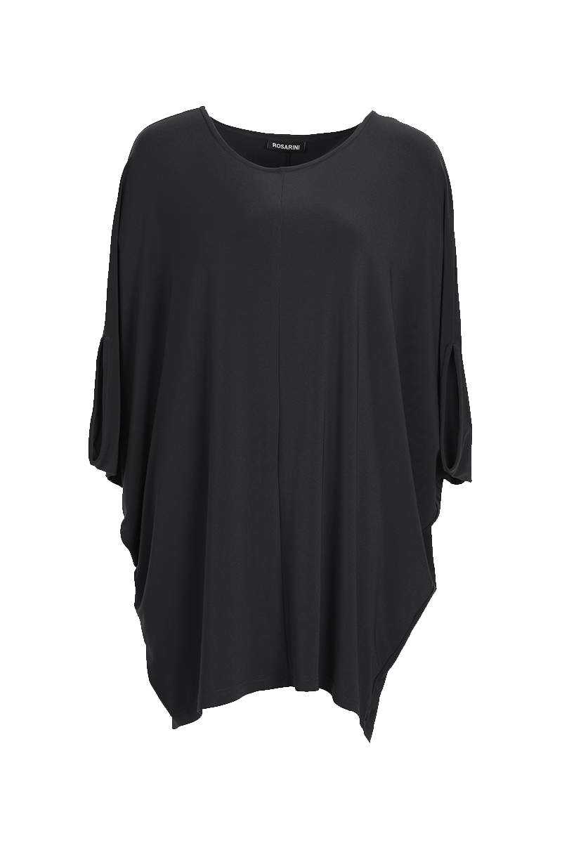 Essential Overall Poncho Black