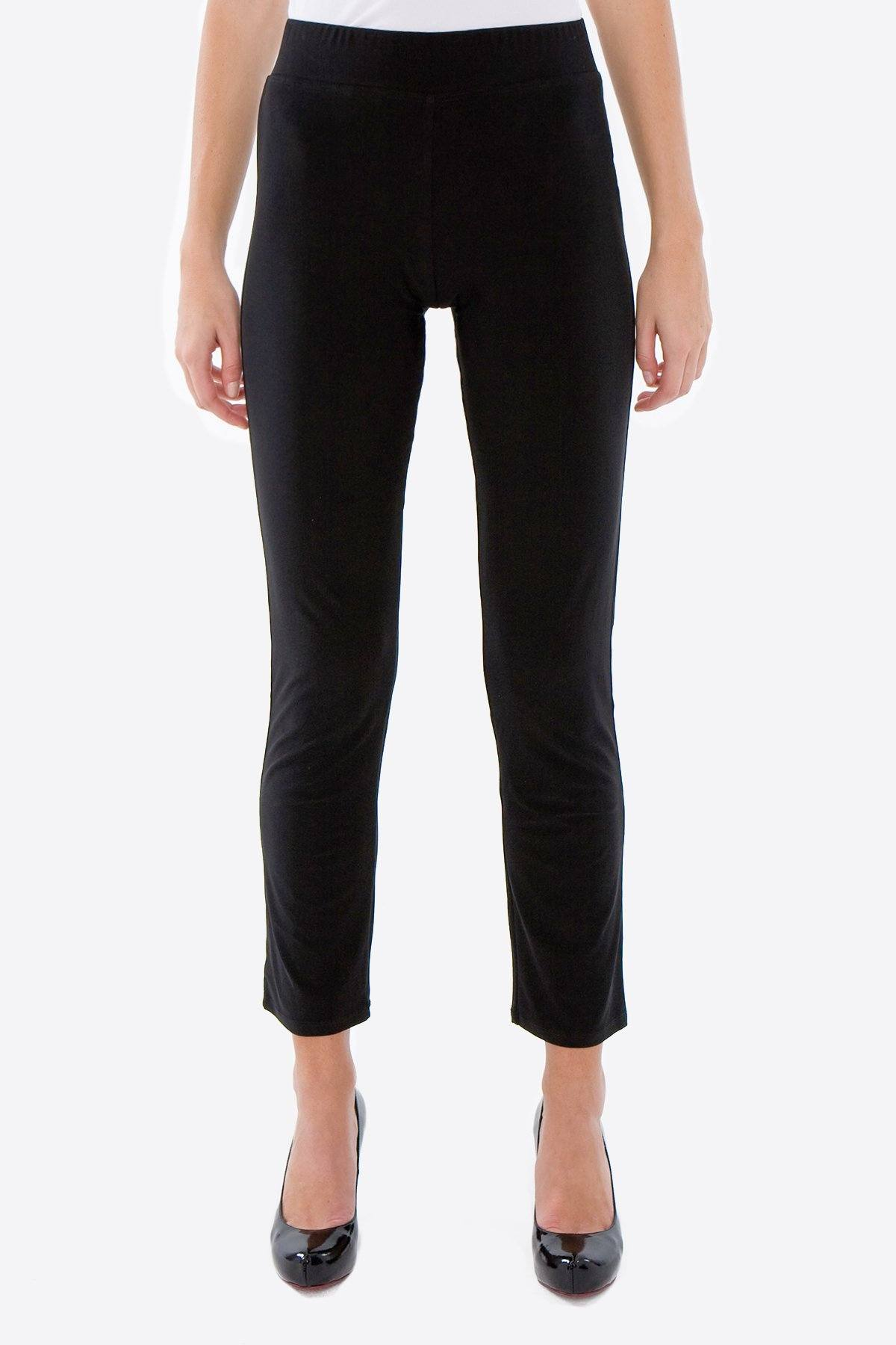 Cropped Pants black