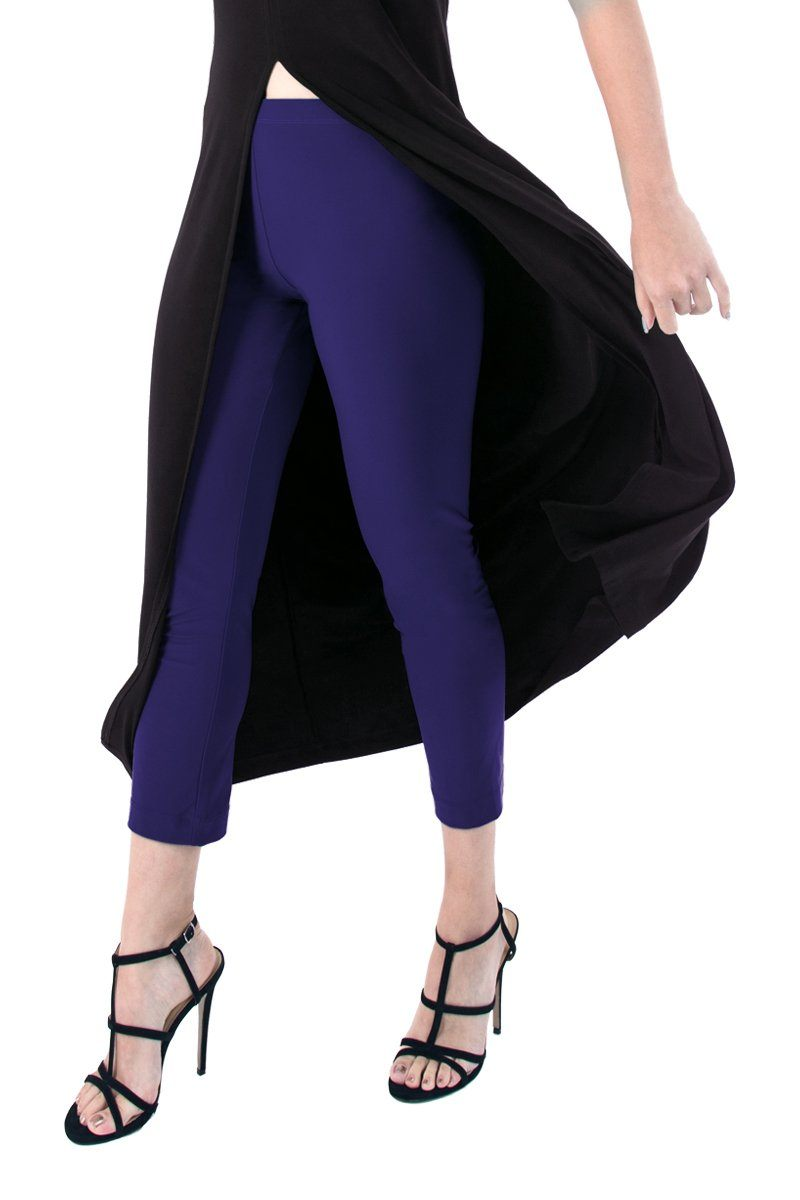 Women's Navy Cropped Pants Rosarini