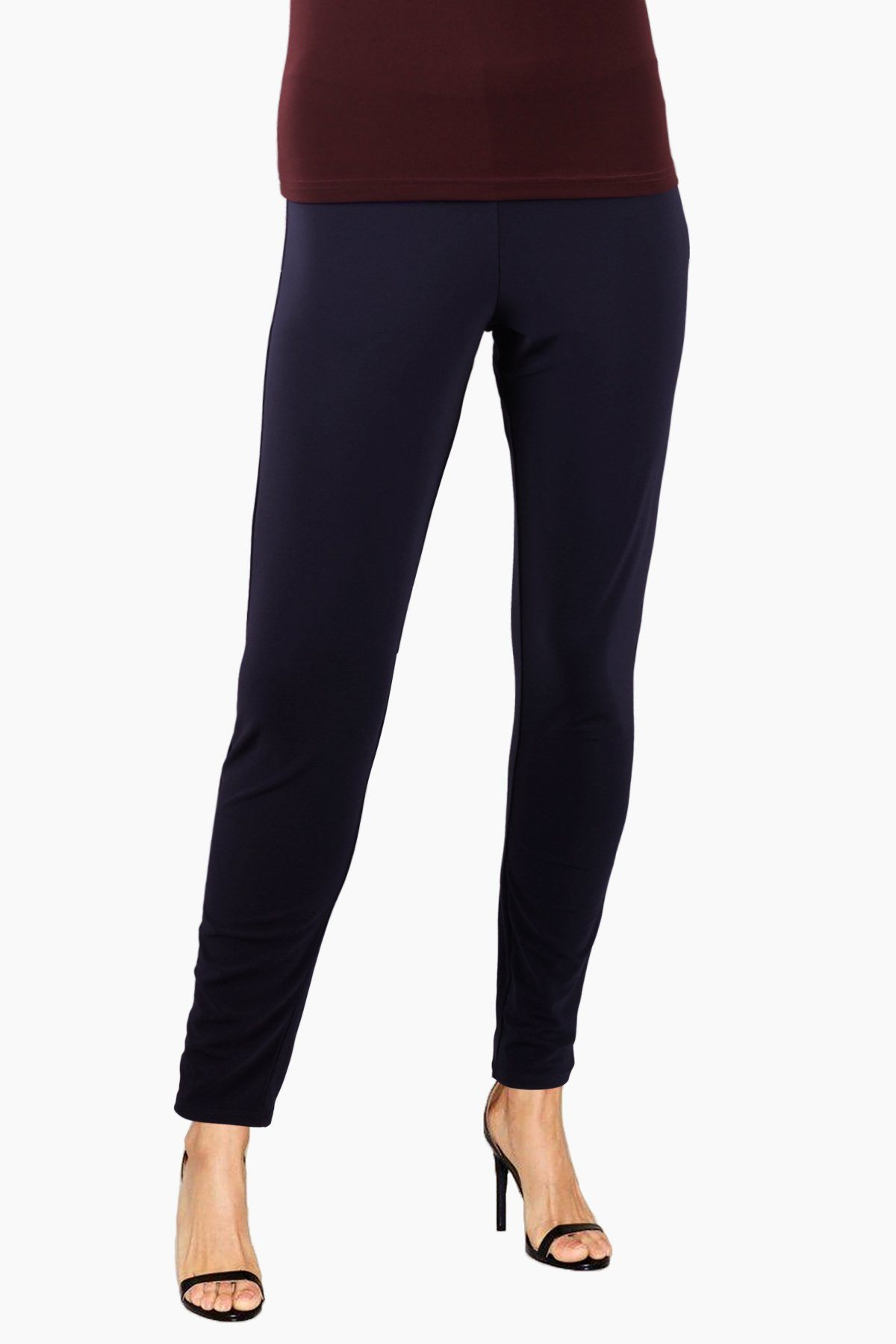 Women's Black Slim Pants Rosarini