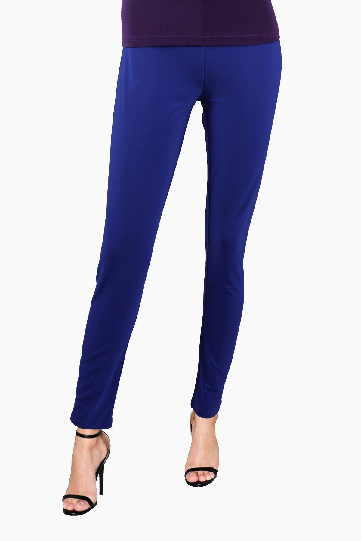 Women's Blue Slim Pants Rosarini