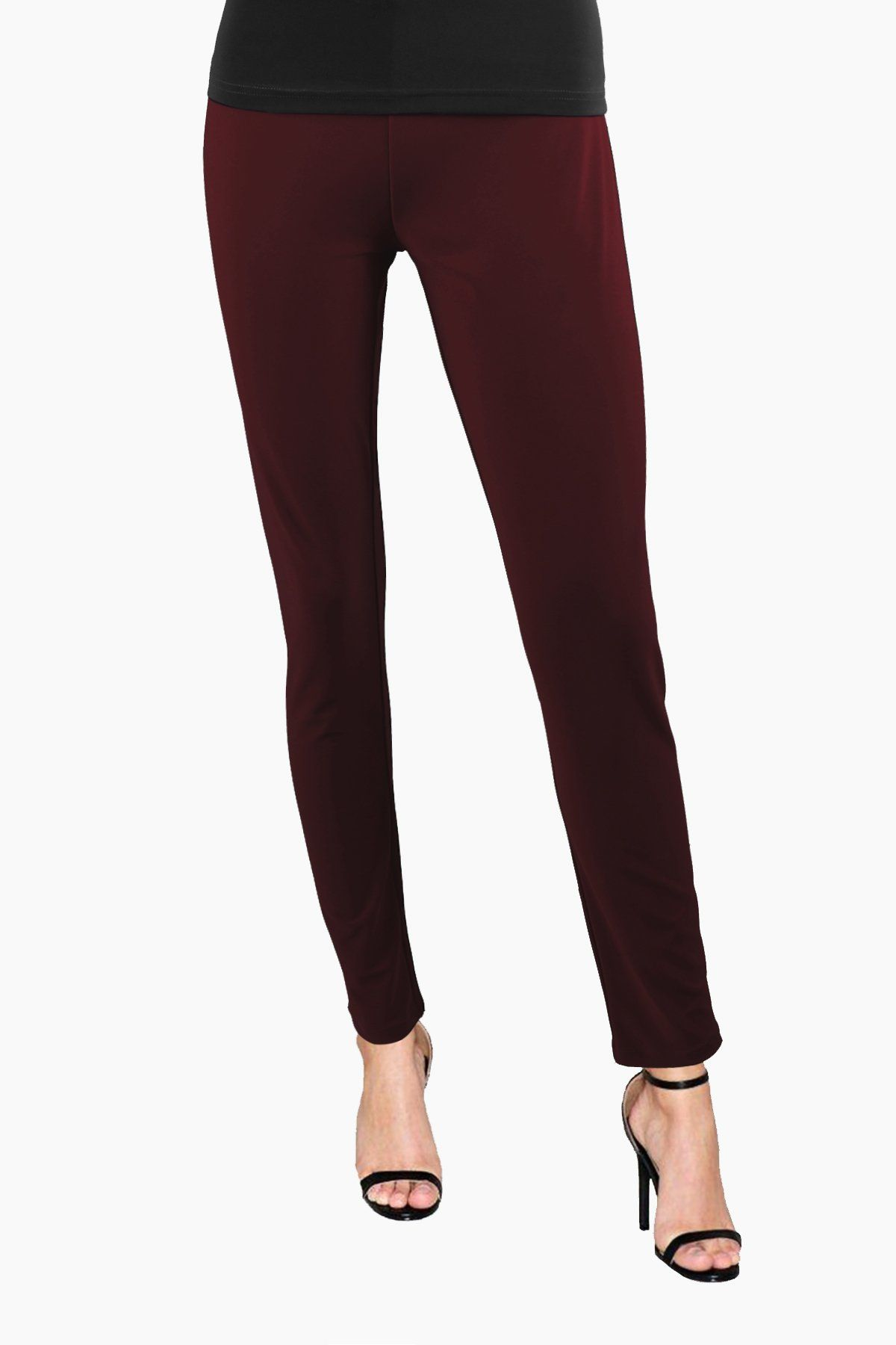 Women's Chestnut Slim Pants Rosarini