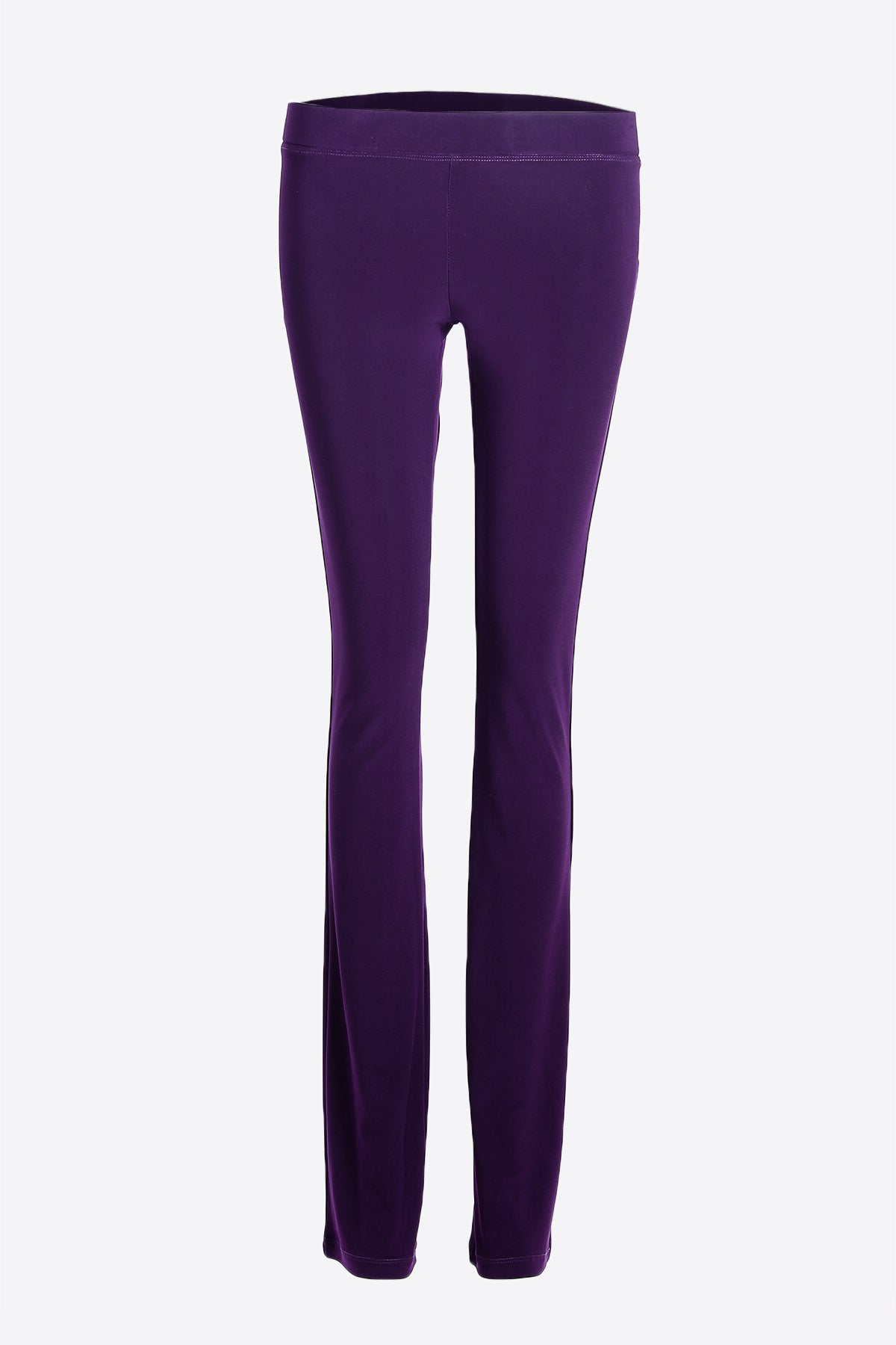 Women's Purple Slim Boot Leg Pants Rosarini