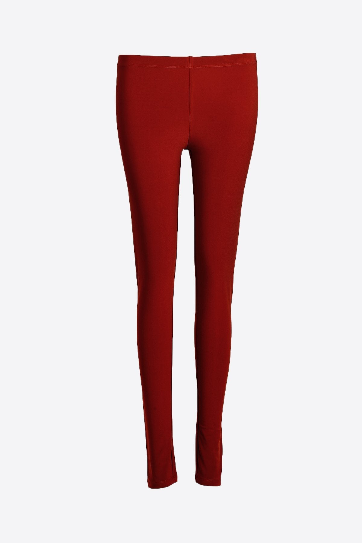 Classic Leggings Dark Red