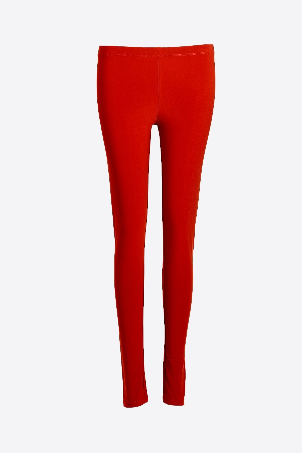 Women Red  Leggings