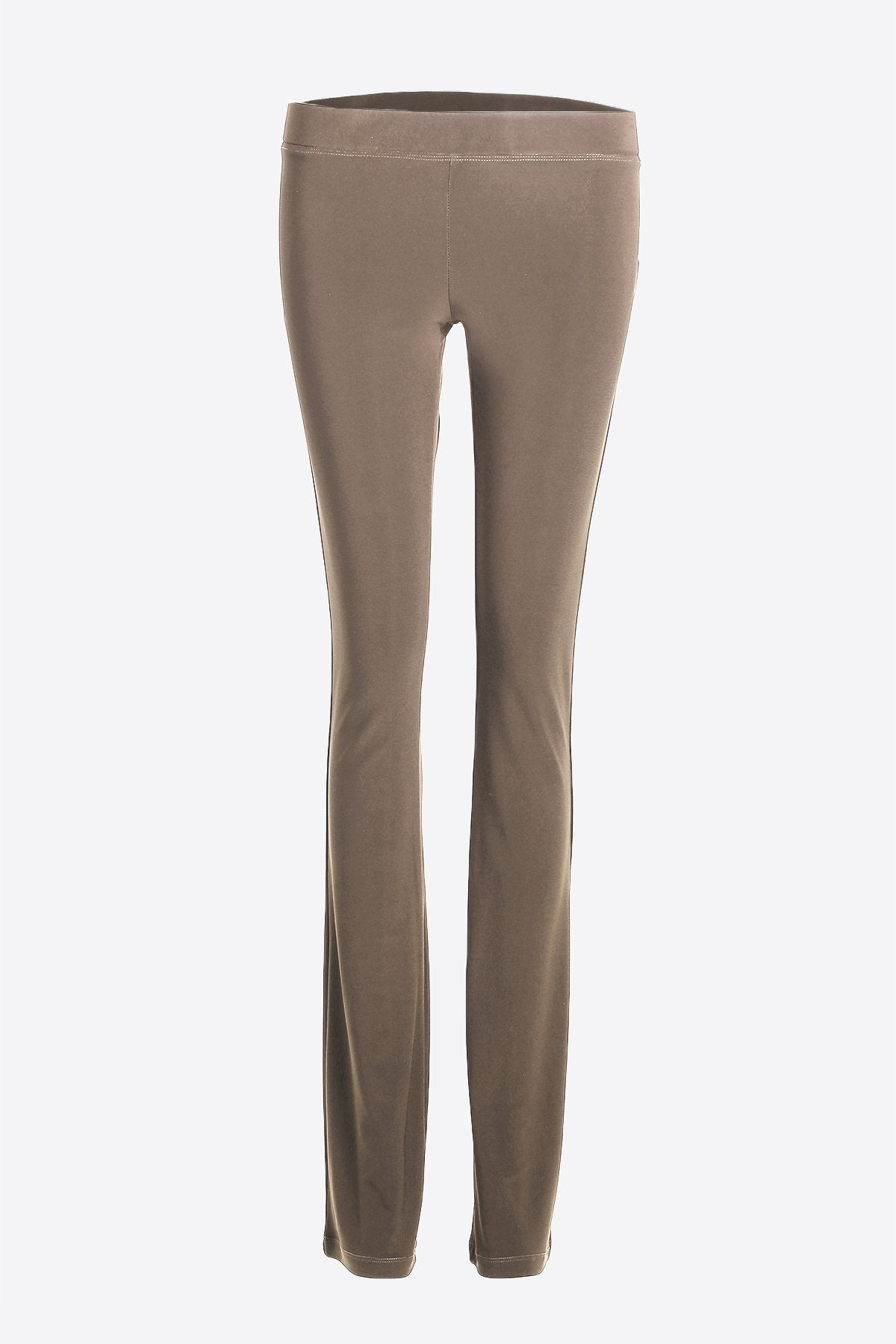 Women's Taupe Slim Boot Leg Pants Rosarini