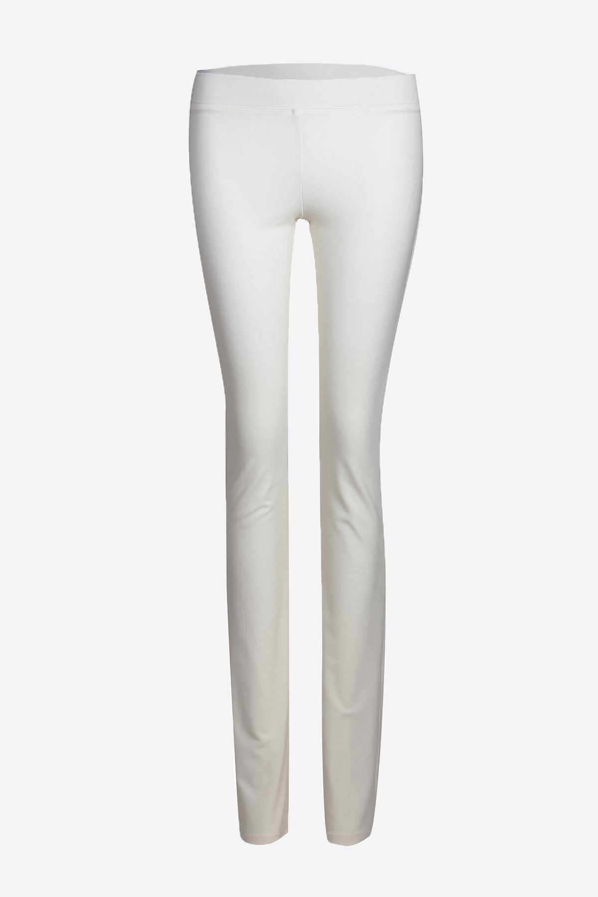 Women's White Slim Boot Leg Pants Rosarini