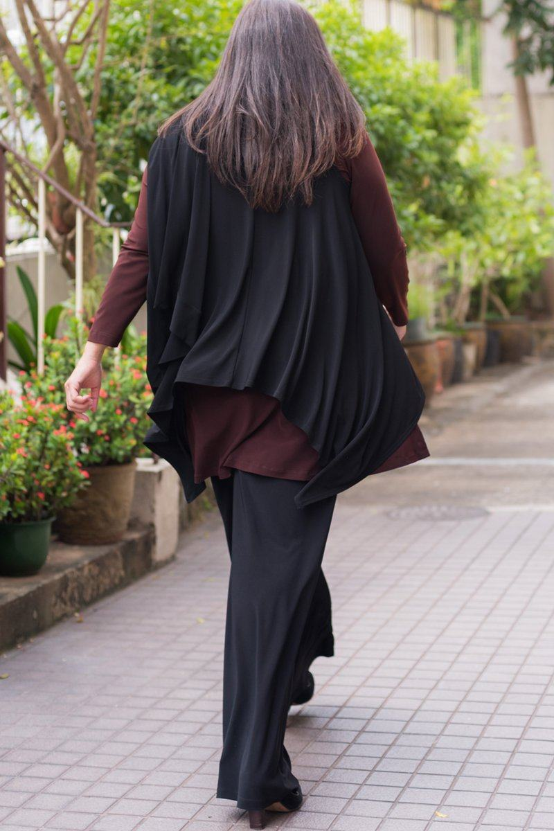 Wide Leg Pants (Plus Size) - Women's Clothing -ROSARINI