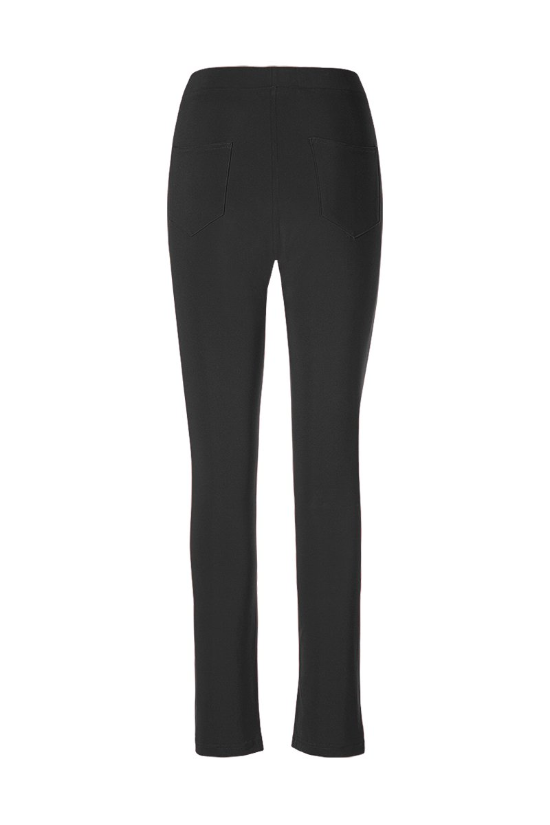 Women Slim Fit Pants with Pockets