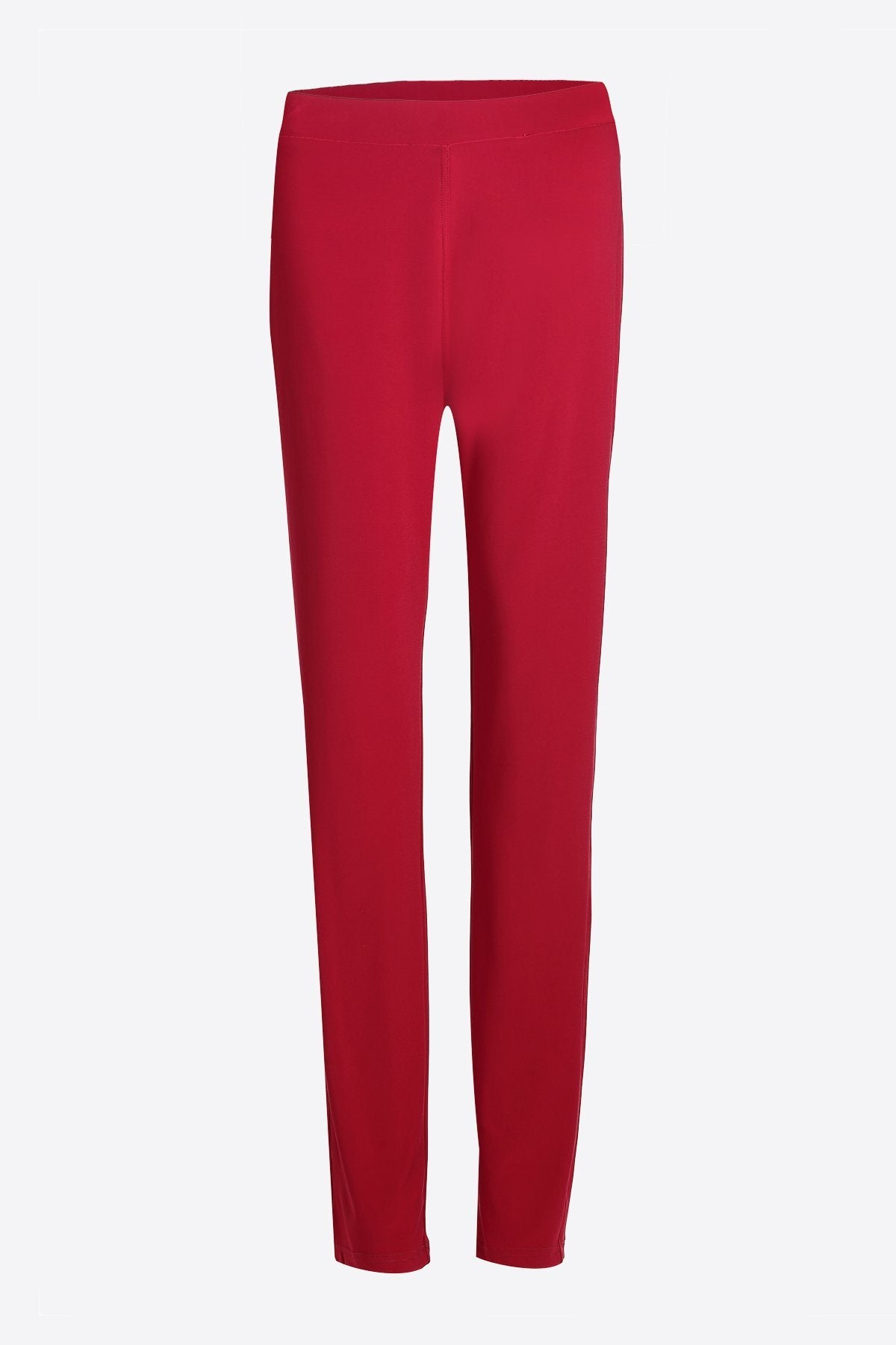 Cropped Pocket Pants red