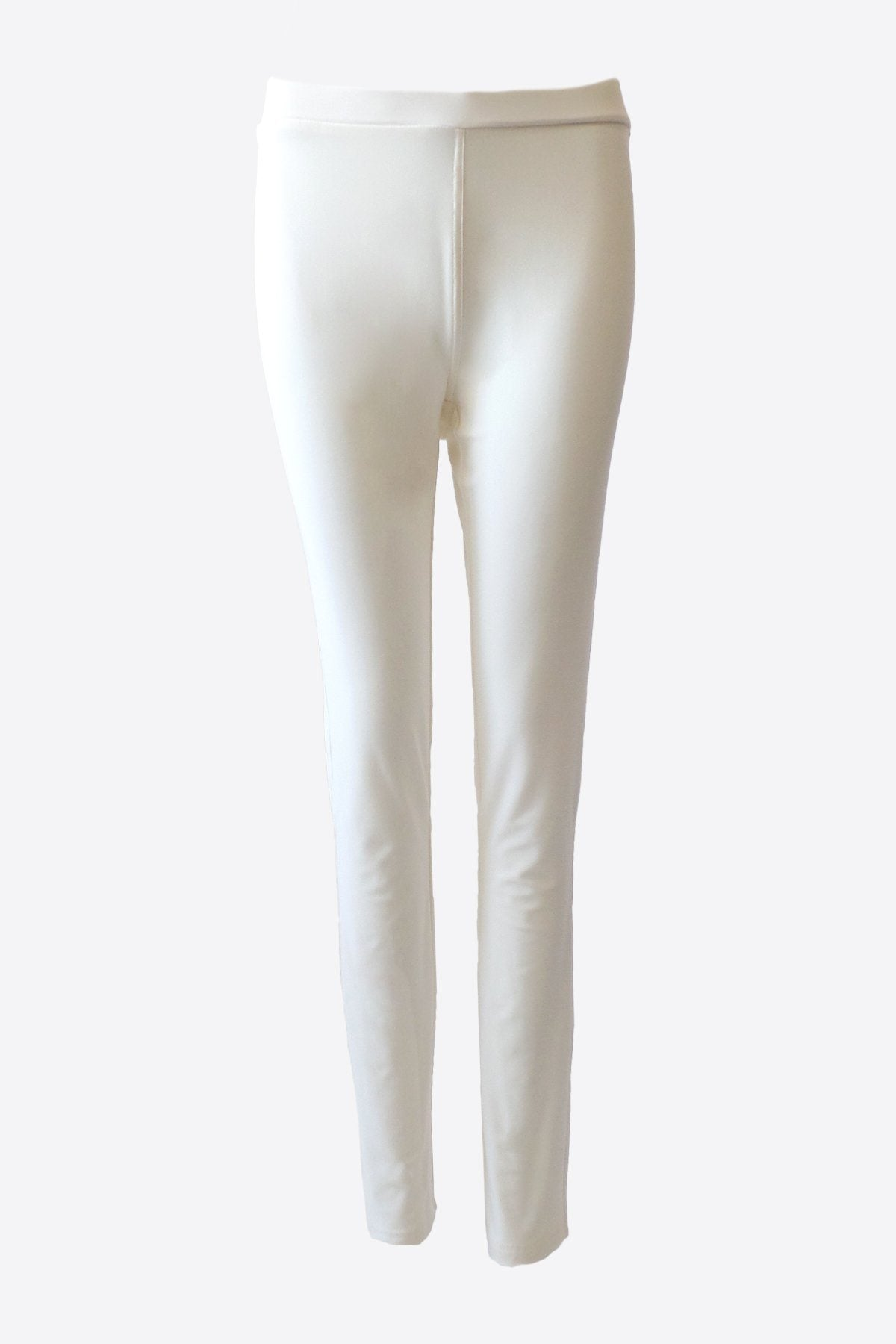 Women's White Cropped Pocket Pants Rosarini