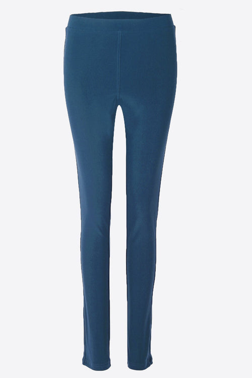 Women's Teal Cropped Leggings Rosarini