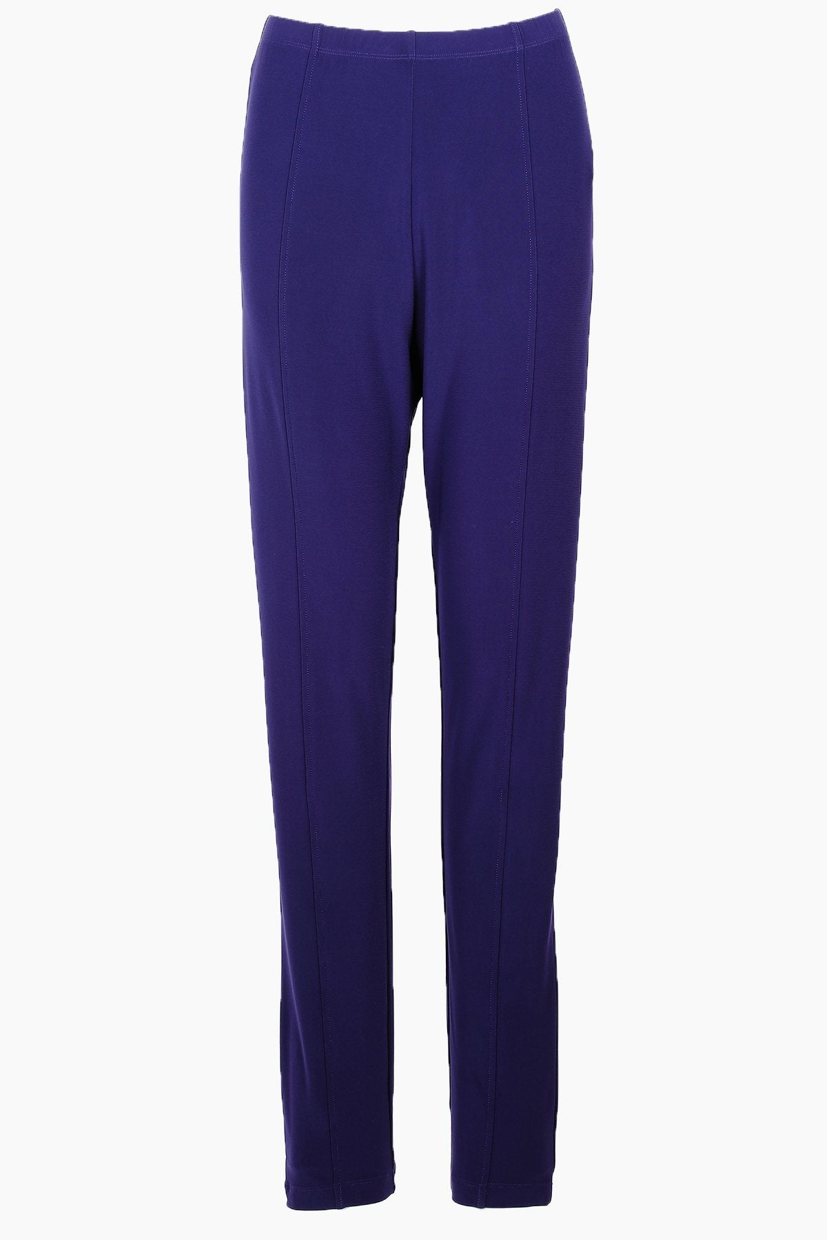 PLUS SIZE HIGH WAISTED TRAVEL PANTS NAVY