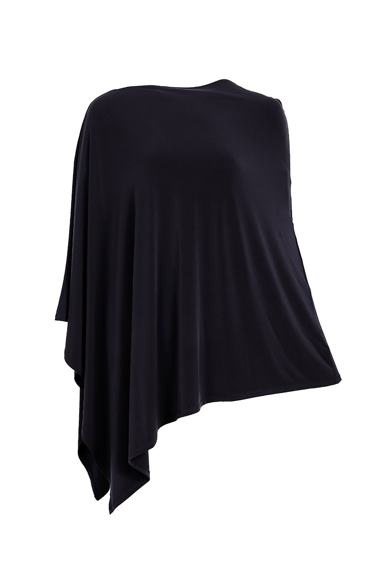 Essential Poncho Black